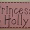 Children's Door Name Plaque