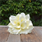 Silk bridesmaid bouquet in shades of cream, green - Lily