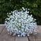Silk bridesmaid bouquet in white - Madeline bridesmaid bouquet
