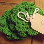 Crochet Flower Coaster  Set of 6