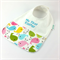 Easter Baby Bib, Embroidered My First Easter, Easter Chick Cotton Fabric.