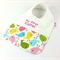 Easter Baby Bib, Embroidered with My First Easter, Easter Chick Cotton Fabric.