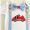 1st Birthday Racing Car Theme Baby Boy Onesie All Sizes Available