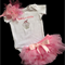 Baby Girl .... baby shower.... new born gifts ..Baby rufflepants...