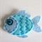 Blue Fish Hair Clip