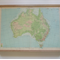 My Place, Australia - Vintage Map Pinboard.