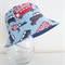 Boys summer hat in funky London fabrics