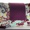 Nappy Wallet - Purple Swirl & Spots - Suit Girls - Medium