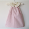 Pink darling dress with gold polkadot collar. Size 4, 5, 6