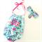 Size 00 Baby Girl Playsuit and headband - romper, birthday, newborn