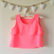 Girl's Neon Pink Floaty Top - Size 8 - One of a Kind