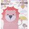 Pink LION Print 8x10 - Ready to ship