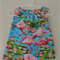 Girls Flamingo Dress with  Flutter Sleeves