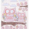 Pink Owl Print 8x10 -