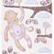 Pink Monkey Print 8x10 - Ready to ship