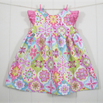 Baby dress with matching nappy cover - Size 000 READY TO SEND
