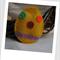 Easter Egg Felt Catnip Toy (Yellow)