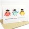 Graduation Card - 3 Graduation Owls - GRD008