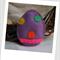 Easter Egg Felt Catnip Toy (Mauve)