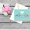 Love Bicycle Couple Card - Cycling - Riding - Bicycles Rides - A6