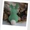 Easter Bunny Felt Catnip Toy (Green)