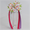 "Pinwheel bow with streamers - ""Flowers"""