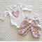 Baby Girl's Purple Floral Pants Set - Size 0000 - One of a Kind
