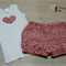 Bloomers & Matching Singlet Set - Fun Pink Leopard - Various sizes available