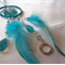 Rain Drops Mini Dream Catcher