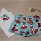 Baby Shorts Set - Shorts & Singlet - Funky Foxes - Size 0