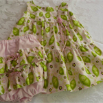 """6 Months - """"Peas in a Pod"""" Dress and Pants"""