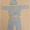 Blue Jacket, Pants and Hat set