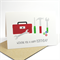 Happy Birthday Card Male - Tool Box and Tools - HBM053
