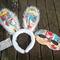"""..Easter Bunny Ears/Mask..                 .....Super Hero....."