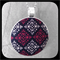 Harlequin Lace: Large Bezel Set Pendant