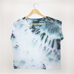 LRG Unique Liberty Design - Tie Dye T-Shirt 'Shoulder Scrunch'