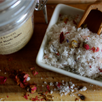 Luxury Bath Salts Soak. Handcrafted. All Natural. Botanicals. net 250 grams