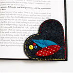 Heart - Felt Bookmark, Perth, Australia