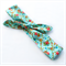 Knot Hair Wrap- Floral Blue.  Girls size
