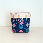 Dream Catcher Fabric Basket - small