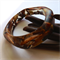 'Ganymede' Chai Organic Shaped Resin Bangle.