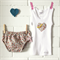 sweetheart | baby bloomers & singlet set | newborn gift