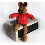 Levi - Hand Knitted Bunny