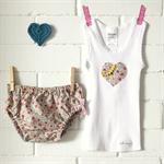 sweetheart | baby bloomers & singlet set | newborn gift