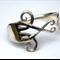 Silver Fork Bracelet - Celtic Design - Handmade, Repurposed Vintage Fork