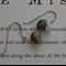 DUSK ~ Czech Glass Beaded Drop Earrings