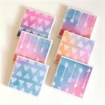 Watercolour Arrows Triangles Coasters - 6 Ceramic Tile Drink Coasters