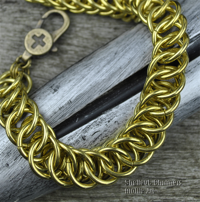 Bjorn Ironside. A chain maille bracelet from the bLokE range by ...