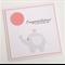 Congratulations a new baby girl - Handmade Card