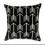 Arrow cushion cover black and white pillow geometric pillows modern cushions